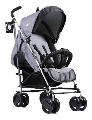 Coche baston reclinable bebe aluminio ezzo babygo niña