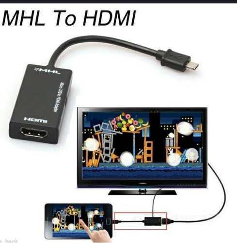 Mhl A Hdmi Cable - Mini Micro Usb 2.0