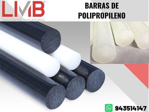 Barras y planchas de polipropileno