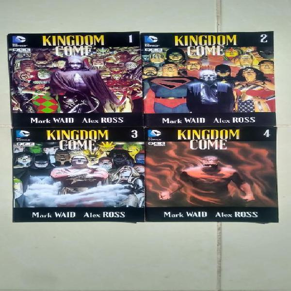 Comic kingdom come vol. 1 nº 1 - 4 ecc