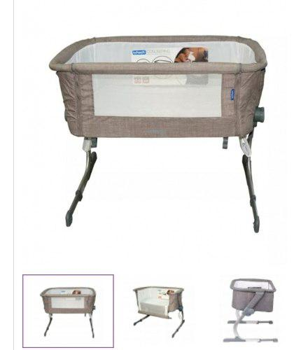 Cuna colecho baby infanti gris