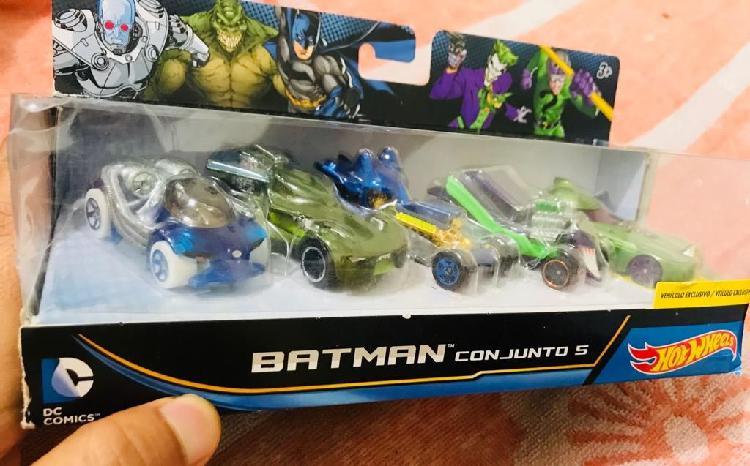 Hot wheels batman dc comics mattel