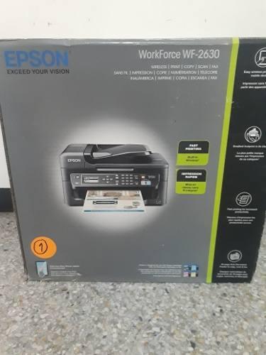 Impresora Epson Wf-2630 Con Sistema Continuo/wifi