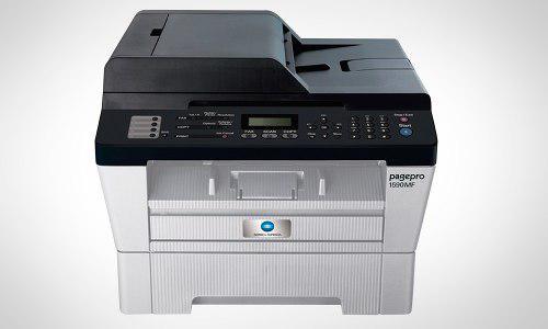 Impresora multifuncional monocromática konica minolta