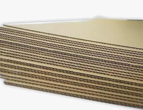 Plancha de carton microcorrugado