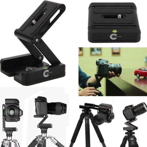 Cabezal de trípode z flexible para vídeo y fotografía