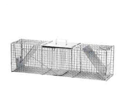 Havahart 1050 animal vivo dos puertas mapache grande y tramp