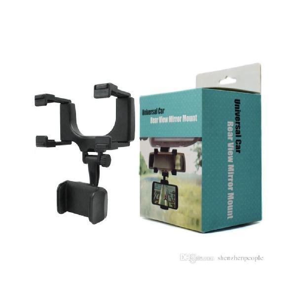 Holder retrovisor soporte para celulares y gps - nuevo