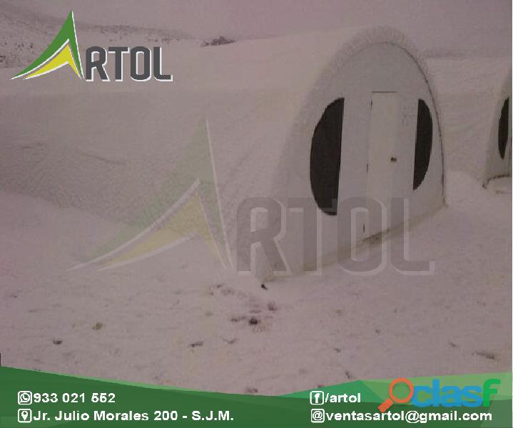 Toldos y carpas campamentos mineros artol perú