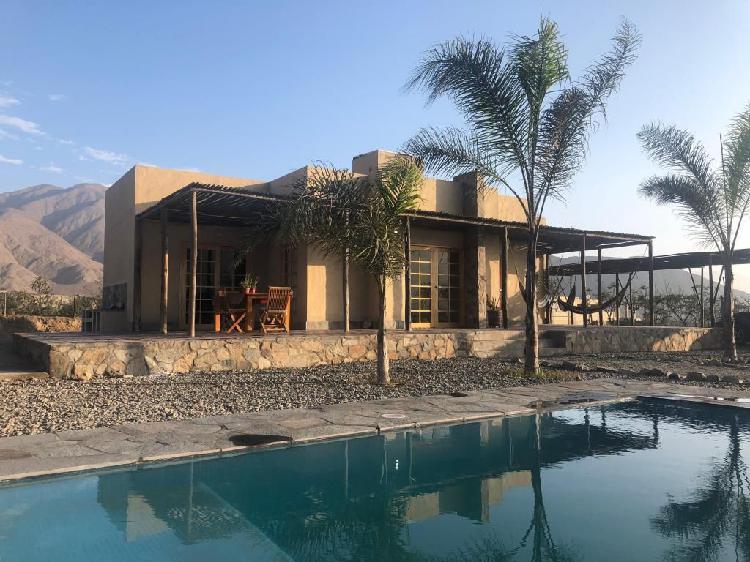 Casa de campo en cieneguilla - alquiler casa completa -