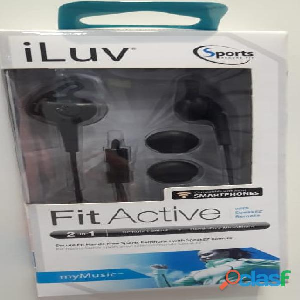 I luv fit active   audífonos