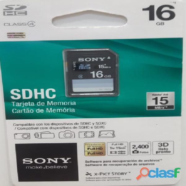 Sony sdhc 16 gb   tarjeta de memoria