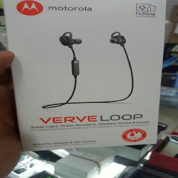 Bluetooth handsfree manos libres motorola verve loop