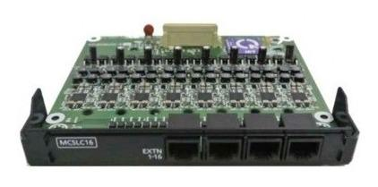 Kx-ns5174x tarjeta de 16 extensiones análogas - panasonic