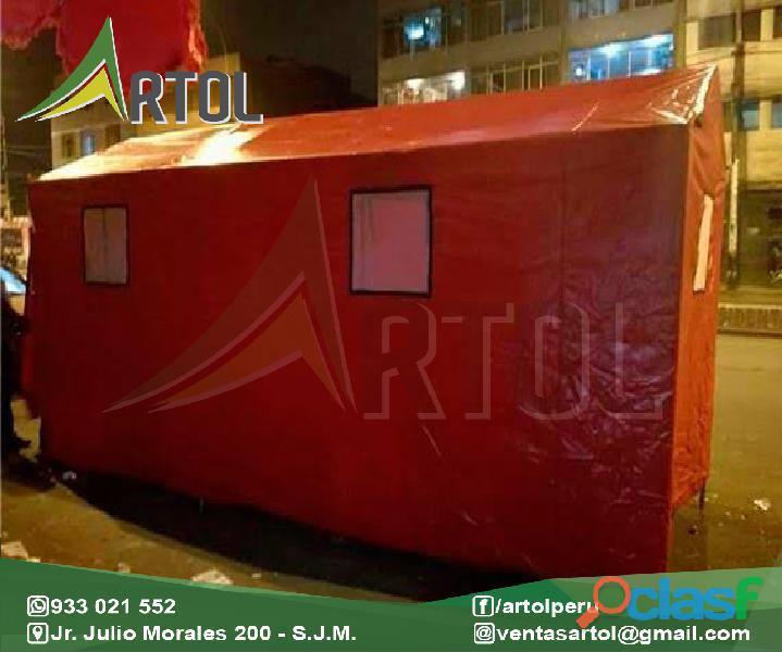 Campamento para campaña   artol perú