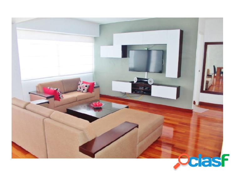 Alquiler de Departamento de Miraflores Vista Mar Moderno Amoblado 2 Dormitorios