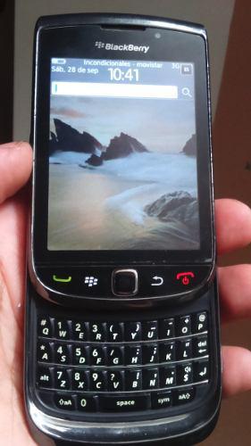 Celular blackberry torch 9800 solo para movistar