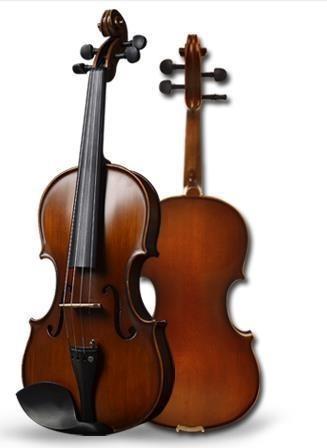 Violin europeo de calidad sonido fuerte y limpio - 4/4 1/2