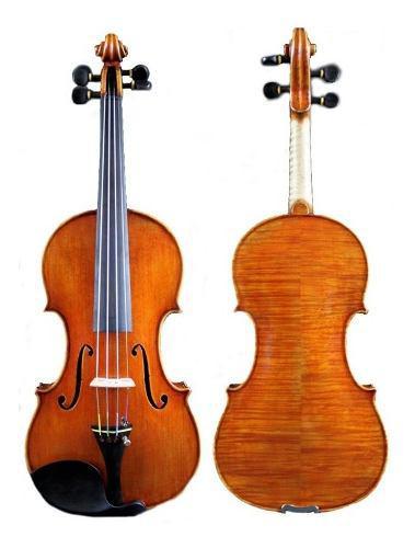 Violin guarnerius 4/4 madera de arce con arco profesional
