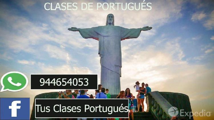 Clases trabajos de portugués -