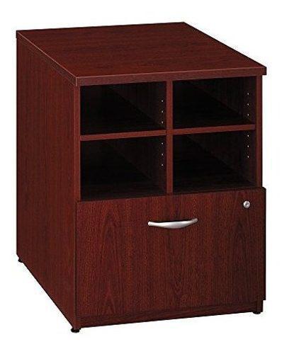 Caoba mancha oficina unidad de almacenamiento w abierto comp