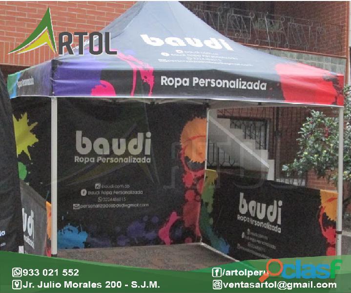 Carpas Publicitarias Modelos Para Campaña   Artol Perú