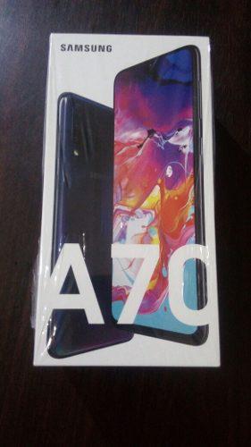 Celular smartphone samsung galaxy a70 negro sellado movistar