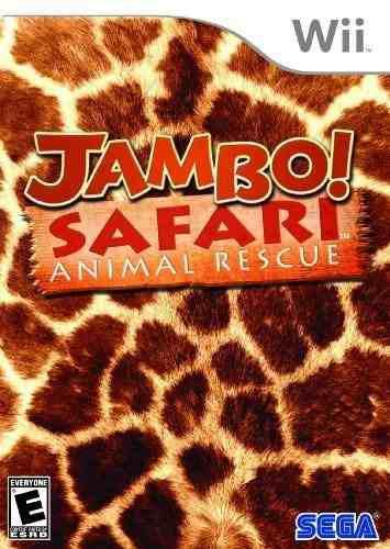 Jambo safari animal rescue nintendo wii