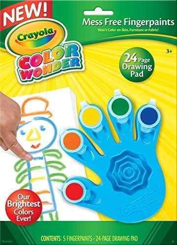 Crayola, color wonder mess papel y pintalabios gratis, herra