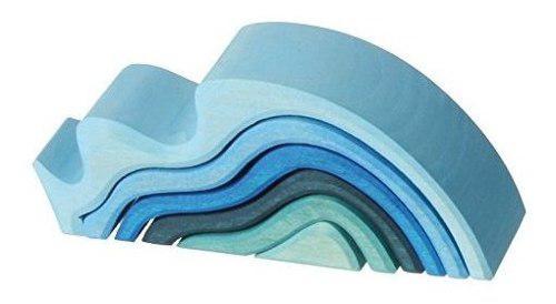 Grimms apilador de ondas de agua grandes - bloques de ondas