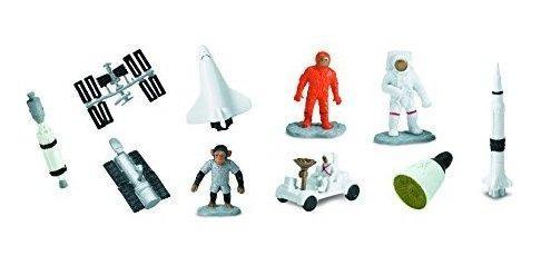 Safari ltd space toob con 10 figuritas de juguetes fuera del
