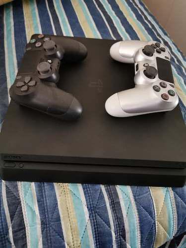 Oferta playstation 4 slim 1 tb / 2 mandos / 3 juegos