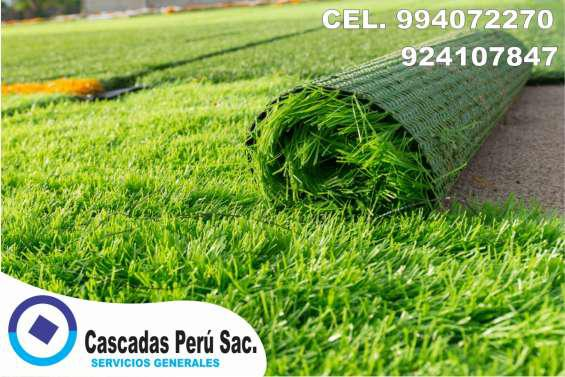 Grass bermuda, grass americano, cesped artificial en Lima