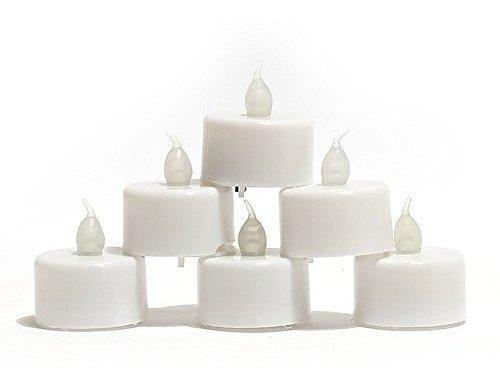 Coop creativo 12 operado con pilas candelita velas sin llama