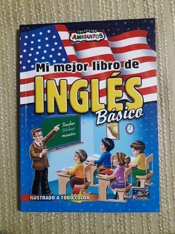 Curso de Ingles, libros en 3 Niveles