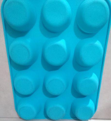 Moldes de silicona para jabones 12 redondos