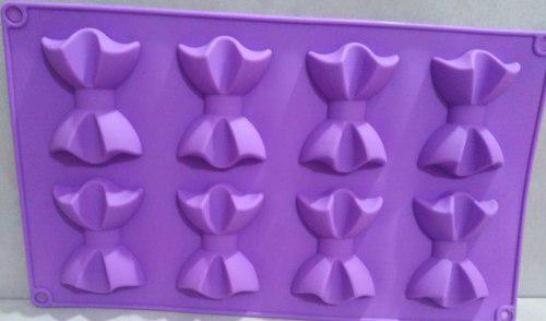 Moldes de silicona para jabones 8 de lazo