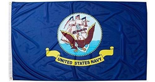 Tiendas en linea superknit poliester azul marino bandera 3 p