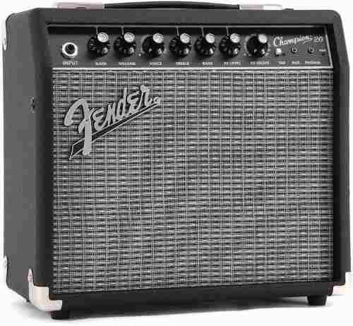 Amplificador fender champion 20 wats analogo para guitarra