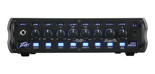 Cabezal amplificador de bajo 1000w 4 ohms peavey minimega
