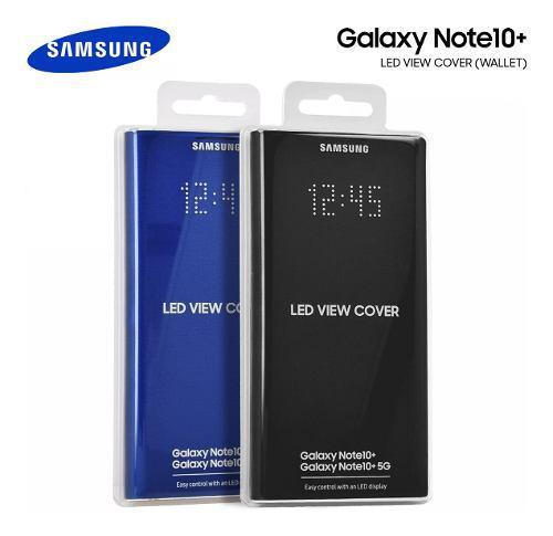 Flip Case Led View Cover Galaxy Note 10 Y Plus En Stock!!