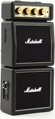 Marshall ms 4 mini amplificador ms4 portatil ms-4