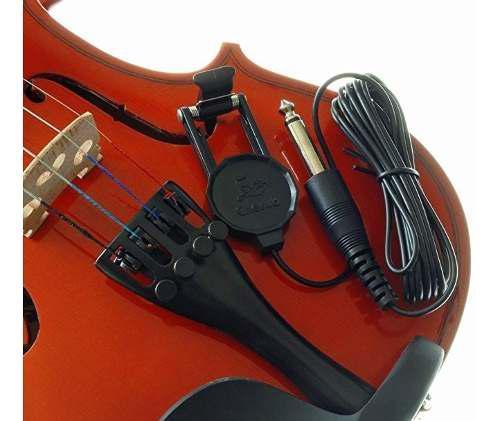 Pastilla microfono portatil amplificador para violin viola