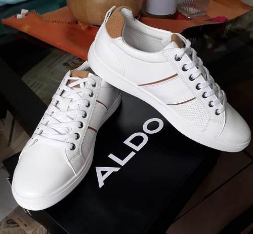 Zapatillas Aldo Blanco Para Hombre Oferta Nuevo No adidas