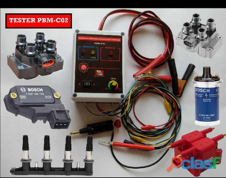 Probador universal de bobinas y módulos PBM C02