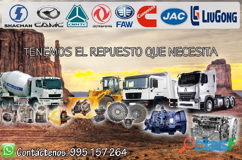 Venta de repuestos para camiones y maquinarias