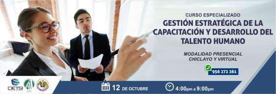 Curso especializado gestión estratégica de la