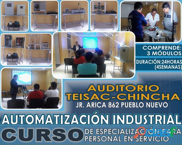 Cursos  automatizacion industrial