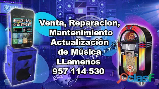 Reparación de todo tipo de rockola 957 114 530