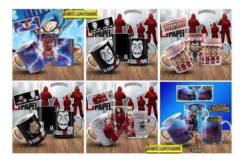 200 Plantillas Tazas Jpg Peliculas Series Anime Y Juegos